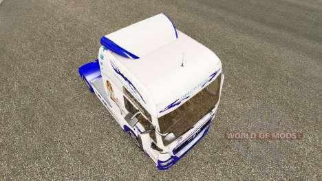 Le Rêve américain de la peau pour l'HOMME de cam pour Euro Truck Simulator 2