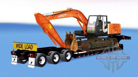Bas de balayage avec les marchandises pour American Truck Simulator