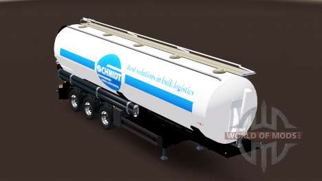 Tank semi-trailer Schmidt Heilbronn für Euro Truck Simulator 2