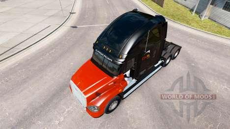 Haut CNTL auf Zugmaschine Freightliner Cascadia für American Truck Simulator