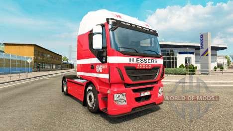 H. Essers de la peau pour Iveco tracteur pour Euro Truck Simulator 2