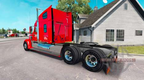 Haut-Ritter auf dem Traktor Güterbahn Coronado für American Truck Simulator