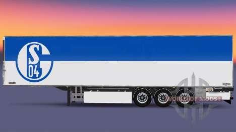 Auflieger Chereau FC Schalke 04 für Euro Truck Simulator 2