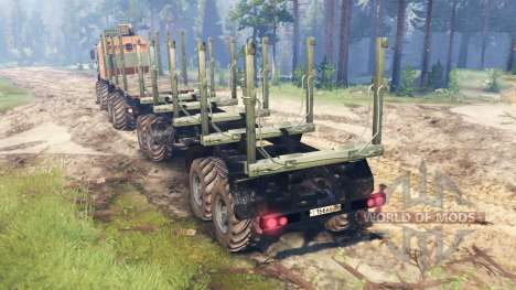 KamAZ-6560 [Mouromets] pour Spin Tires