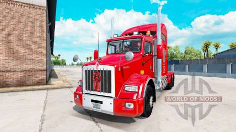 Kenworth T800 v1.2 für American Truck Simulator
