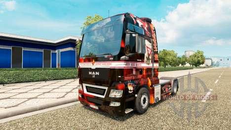 Support 81-skin für MAN-LKW für Euro Truck Simulator 2