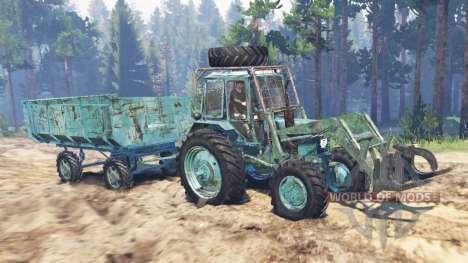 MTZ-82-02 pour Spin Tires