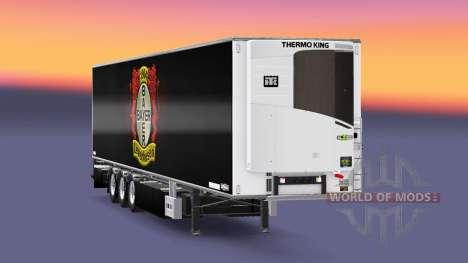 Semi-Remorque Chereau, Le Bayer 04 Leverkusen pour Euro Truck Simulator 2