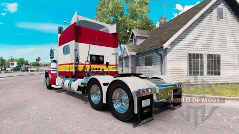 Haut IN-N-OUT für den truck-Peterbilt 389 für American Truck Simulator