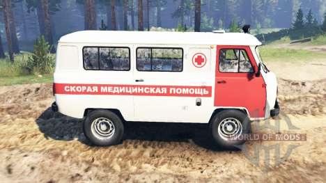 UAZ-39629 für Spin Tires