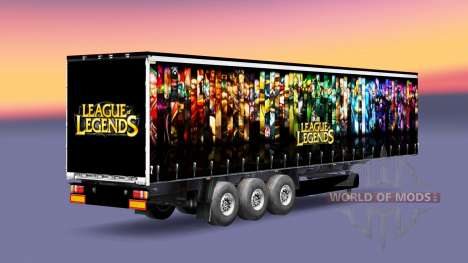 La peau de League of Legends trailer pour Euro Truck Simulator 2