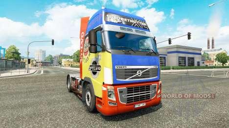 Skin für Volvo-LKW für Euro Truck Simulator 2