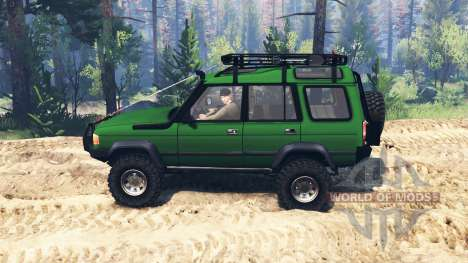 Land Rover Discovery v3.0 für Spin Tires