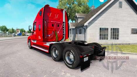 Haut auf die Ritter-LKW Freightliner Cascadia für American Truck Simulator