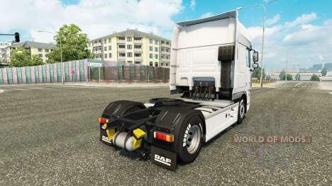 Schmidt Heilbronn skin for DAF truck pour Euro Truck Simulator 2
