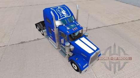 Скин de l'Université de Duke Fierté на Kenworth  pour American Truck Simulator
