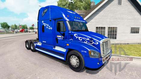 Haut Prime Inc. auf der Zugmaschine Freightliner für American Truck Simulator