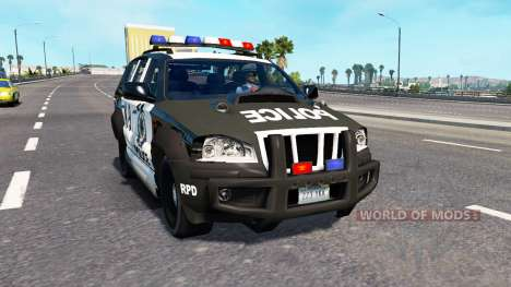 Le trafic NFS most Wanted pour American Truck Simulator