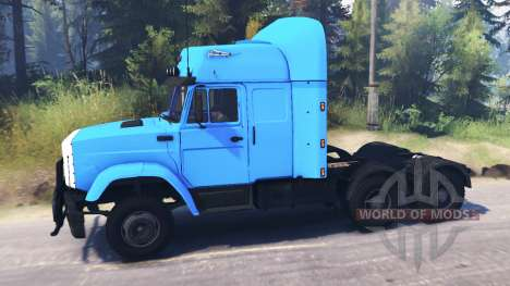 ZIL-4331 6x6 pour Spin Tires