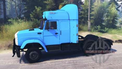 ZIL-4331 6x6 für Spin Tires