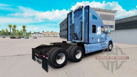 La peau Swift & Diamant Pilote sur un tracteur K pour American Truck Simulator