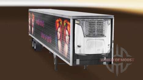 Haut Vereinten Farben für semi-refrigerated für American Truck Simulator
