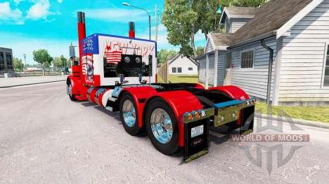 USA skin für den truck-Peterbilt 389 für American Truck Simulator