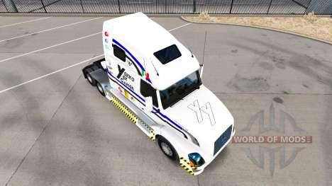 Haut Yekko Yekk Gamer auf Sattelzugmaschine Volv für American Truck Simulator