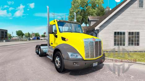 La peau Douce Pete Jour de la Cabine sur le Pete pour American Truck Simulator