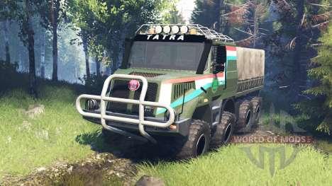 Tatra 163 Jamal 8x8 v7.0 für Spin Tires