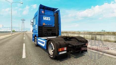 Volkswerft Stralsund skin for truck Mercedes-Ben für Euro Truck Simulator 2