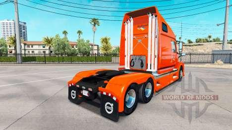 Haut Holland Traktor Volvo VNL 670 für American Truck Simulator