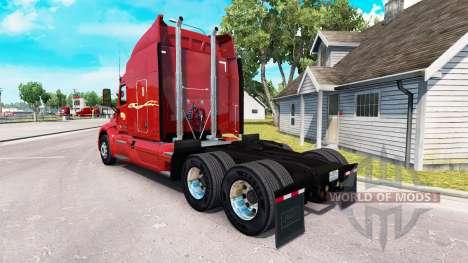 La peau Premier inc. le tracteur Peterbilt pour American Truck Simulator