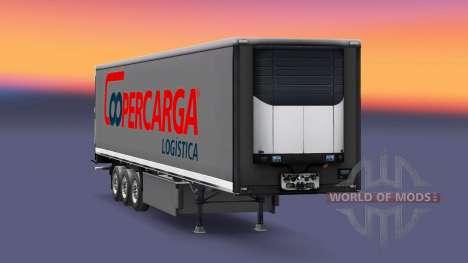 Haut Coopercarga Logistik für semi-Trailer für Euro Truck Simulator 2