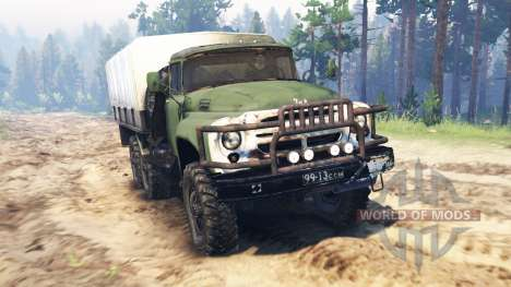 ZIL-130 6x6 pour Spin Tires