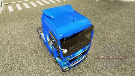 L'océan de la peau pour l'HOMME de camion pour Euro Truck Simulator 2