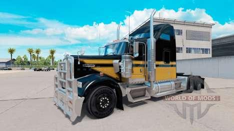 La peau Bonhomme de neige sur le camion Kenworth pour American Truck Simulator