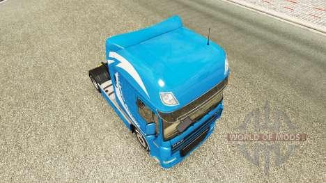 L'Édition limitée de la peau pour DAF camion pour Euro Truck Simulator 2
