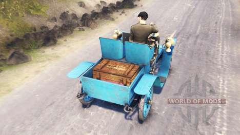 Renault Type G 1902 für Spin Tires