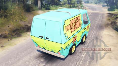 The Mystery Machine [Scooby-Doo] für Spin Tires