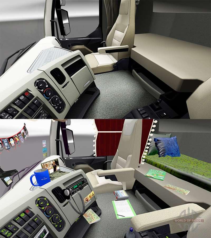 Accessoires pour l 39 int rieur de renault pour euro truck for Interieur accessoires