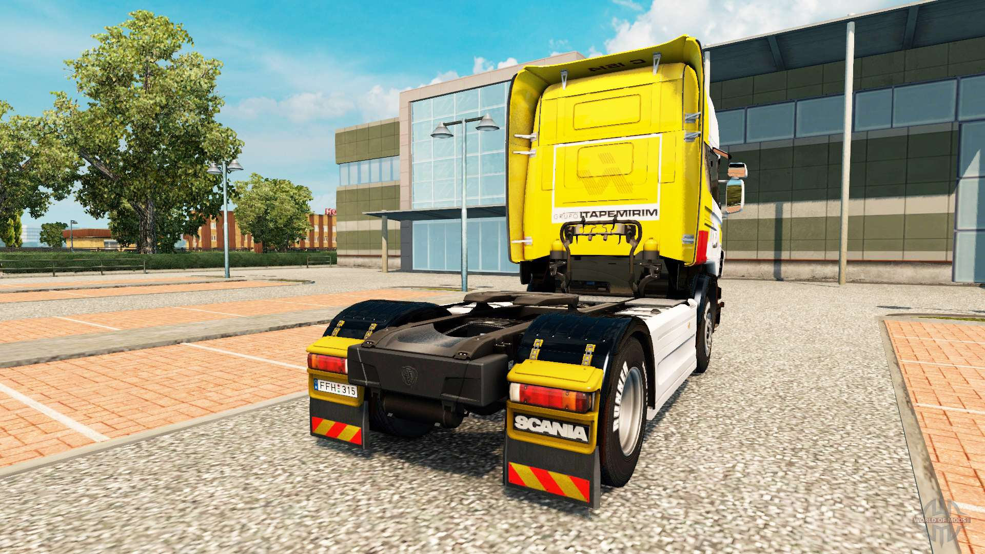haut itapemirim auf zugmaschine scania f r euro truck. Black Bedroom Furniture Sets. Home Design Ideas