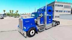 La peau Duc v1.03 sur le camion Kenworth W900