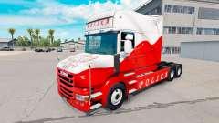 Haut Airbrash Polska für LKW Scania T