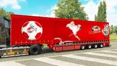 Krone Vorhang semi-trailer-1. FC Koln