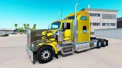 La peau de Carbone Personnalisé sur le camion Ke