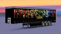 La peau de League of Legends trailer