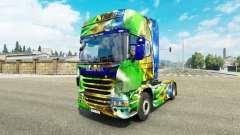 La peau Brasil 2014 pour Scania camion