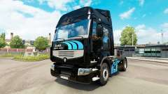 ELMEX de la peau pour Renault camion