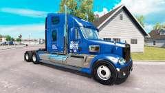 De la peau pour ABCO camion Freightliner Coronad